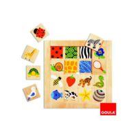 Goula - Puzzle 16 pièces -textures - 53019