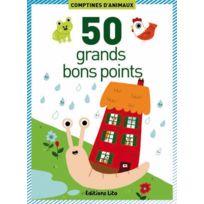 "Editions Lito - grande image ""les comptines d'animaux"" - boite de 50"