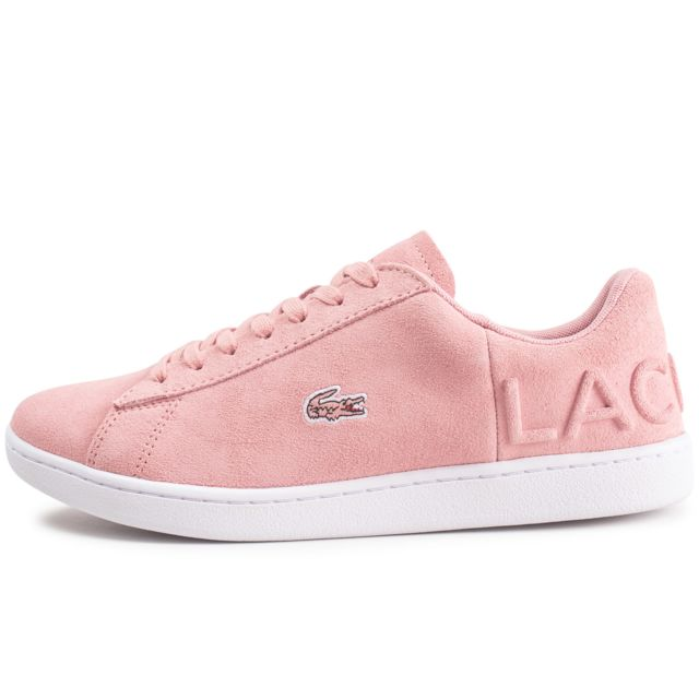 f7835fd425 Vente Lacoste Cher Rose Evo Carnaby Achat Pas Femme Baskets HfqO0wAH