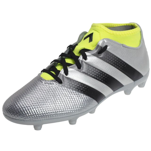 0eb678ade Adidas - Chaussures football moulées Ace 16.3 primemesh Gris 32809 ...