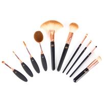 Rio - Set de dix pièces pinceaux maquillage Brco