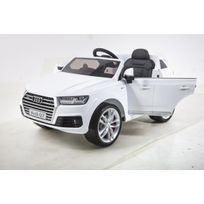 Autre - Véhicule électrique blanc Audi Q7 S-line