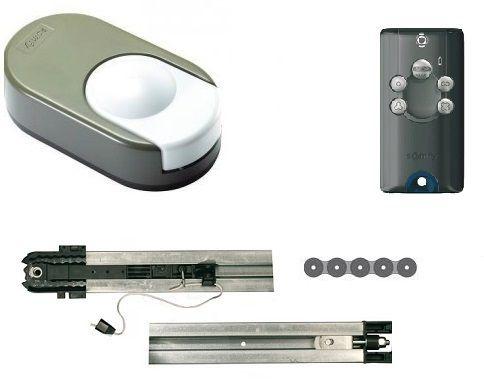somfy kit dexxo pro 1000 3s io chaine motorisation porte de garage 24v pas cher achat. Black Bedroom Furniture Sets. Home Design Ideas