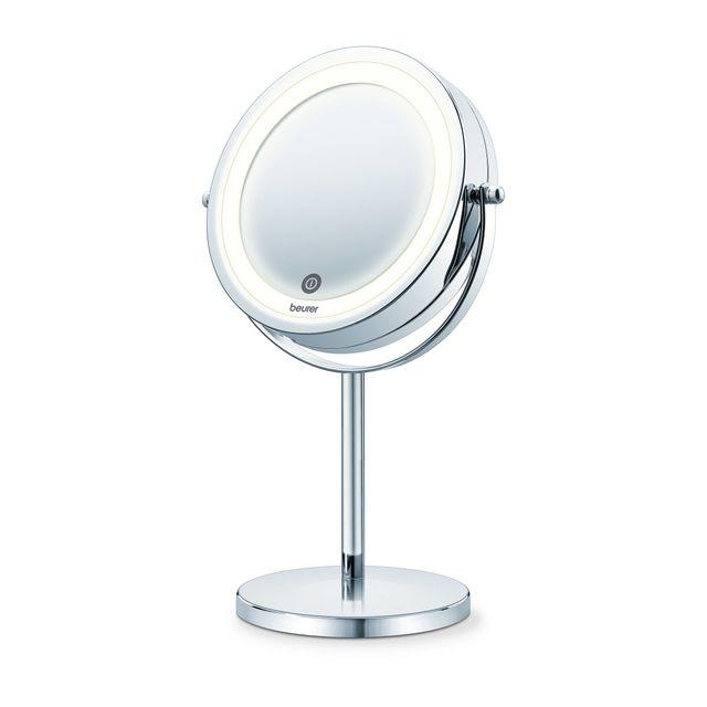 BEURER Miroir cosmétique éclairé BS 55 Miroircosmétique éclairéorientable