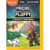 Audiolib - Frigiel et Fluffy tome 1 ; le retour de l'Ender Dragon