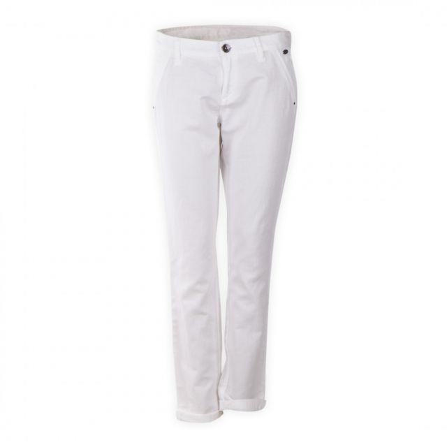 6ca5cd8ece4a8 Ddp - Pantalon en toile lin et coton femme - pas cher Achat / Vente Pantalon  femme - RueDuCommerce