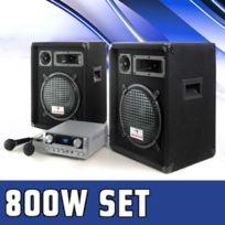 ampli pour micro chant achat ampli pour micro chant pas cher rue du commerce. Black Bedroom Furniture Sets. Home Design Ideas