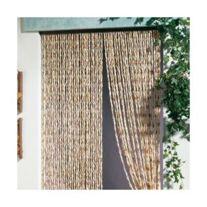 Morel rideau de porte malaga torsades de ma s 100x220 cm - Rideau de porte pas cher ...