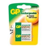 Gp Batteries - Gp - Piles rechargeables Gp 2 x Lr14 1,2 V