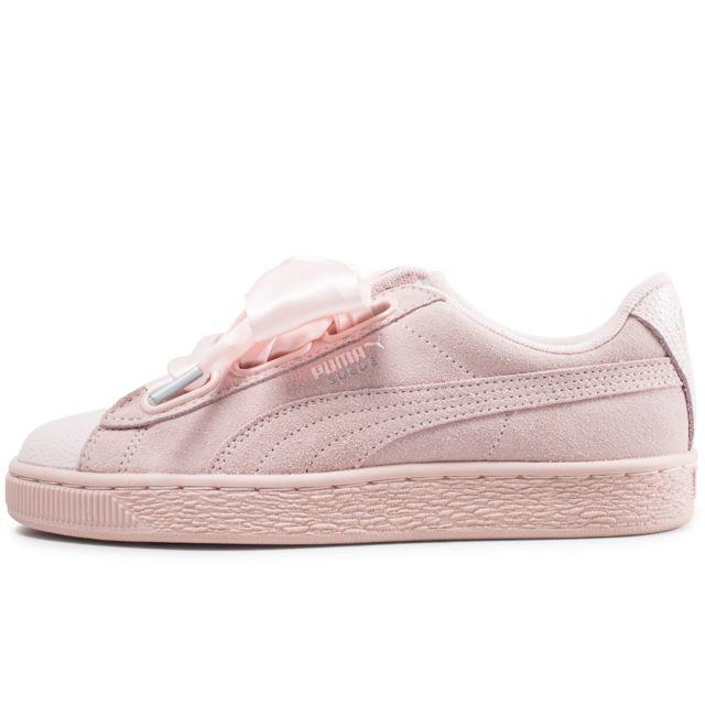 puma suede heart bubble wn's sneakers basses femme