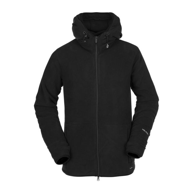 Sweat Polartec Fleece Noir Homme
