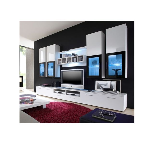 CHLOE DESIGN Meuble tv design Hydra - blanc