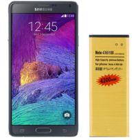 Avizar - Batterie de Haute Capacité 4200 mAh pour Samsung Galaxy Note 4 - Doré