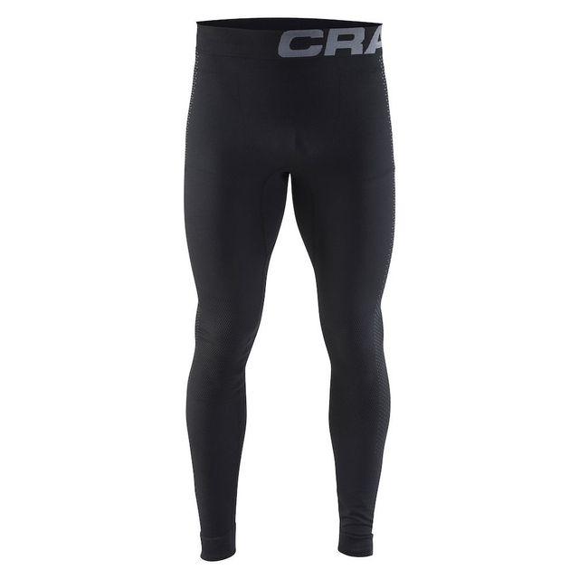 Craft Warm Intensity Pant Noir Sous Vêtement Technique homme