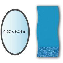Swimline - liner swirl forme ovale 4,57x9,14m pour piscine hors sol - li1530sb