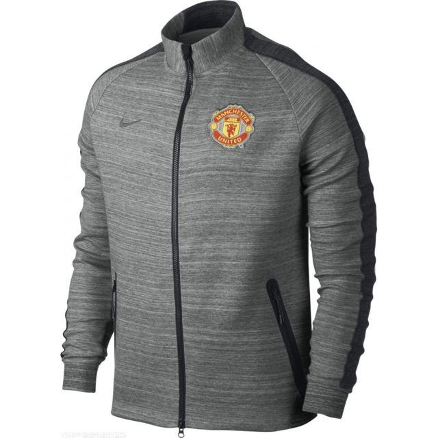 2014 15 veste Manchester United noir couleur nike n98 homme