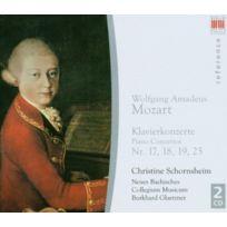 Berlin Classics - Concertos Pour Piano N°17, 18, 19 & 25 W.A.MOZART - Coffret De 2 Cd