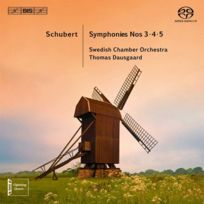 Bis - Franz Schubert - Symphonies no. 3, 4 et 5