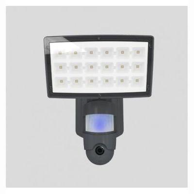 Elstead Lighting Projecteur Anthracite Led 25W + Caméra intégrée Audio Vidéo - Lutec