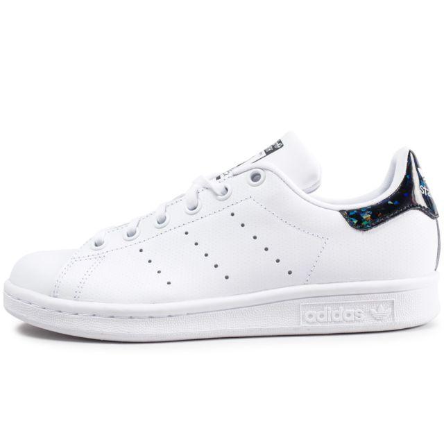 Adidas originals Stan Smith Junior Blanche Et Noire