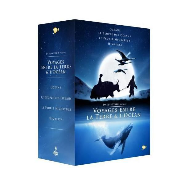 Fox Pathe Europa Coffret Jacques Perrin 5 films Dvd