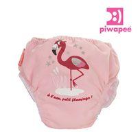 PIWAPEE - Maillot de bain couche flamingo 8-11 kg