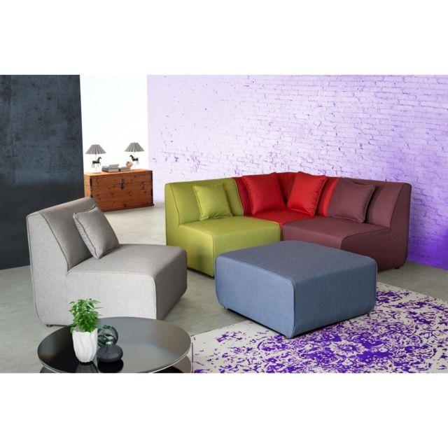 Rocambolesk Canapé tobi modulable multi-couleur