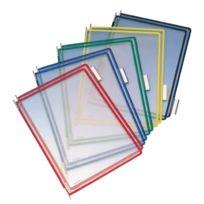 Tarifold - poches a pivot colori assorti - boite de 10
