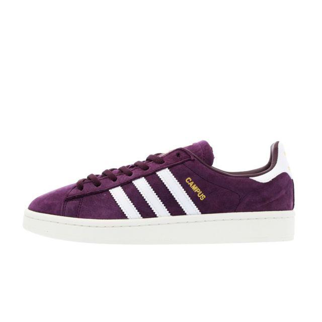 basket femme adidas violette pas cher