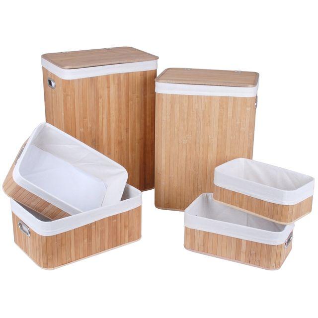 boites rangement fabulous intisse bac de rangement anis. Black Bedroom Furniture Sets. Home Design Ideas
