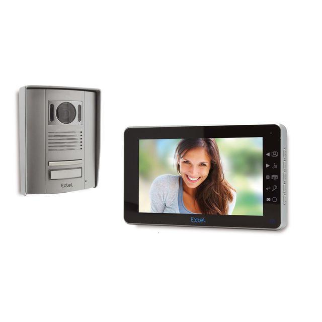 EXTEL - Visiophone 2 fils à mémoire vidéo et photo MEMO 2 - pas cher ...