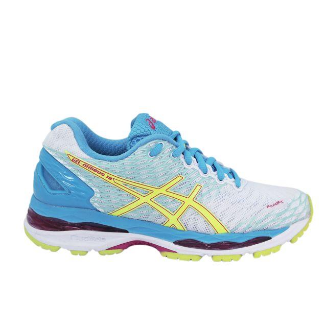 Asics Gel Nimbus 18 Mens chaussures (D) (9001) Running