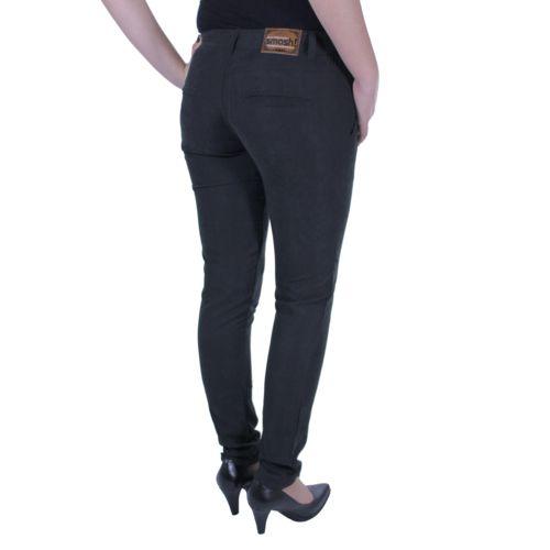 Smash - Pantalon femme Roll noir