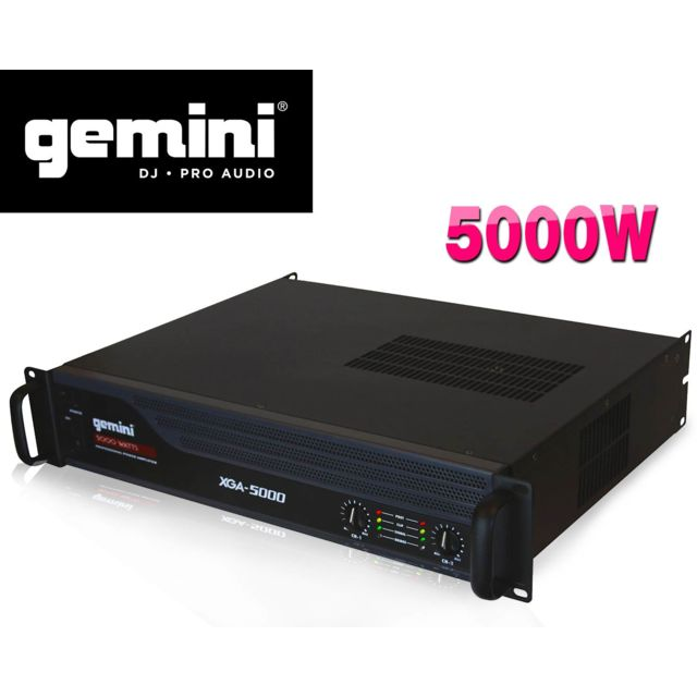 Gemini Amplificateur sono Pa 5000W max Xga5000