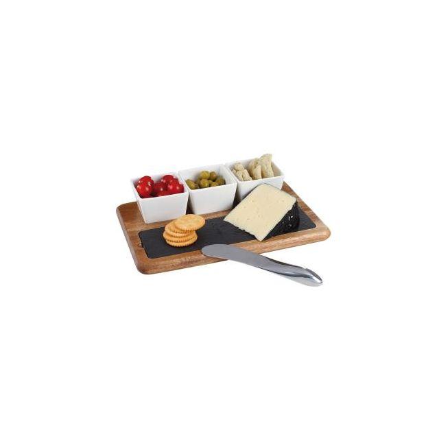 Kitchen Artist Set apéritif et fromage 5 pièces Mes110