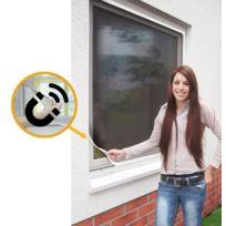 Empasa - Moustiquaire Cadre fixe Fenêtre Magnetique - Pvc Blanc L120 x H140 cm à découper soi-même