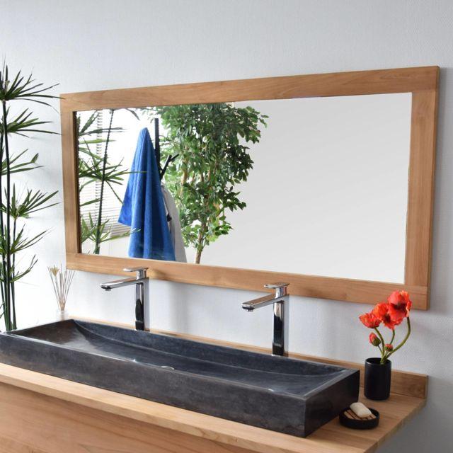 Miroir en teck Lazy 150 x 70 cm