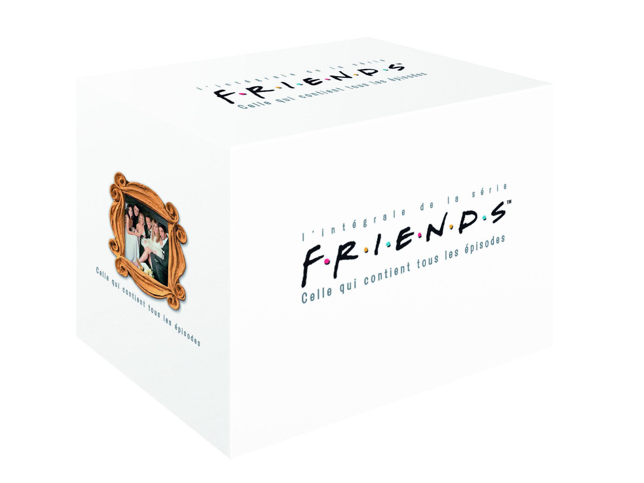 Coffret DVD Friends repack 2012 saisons 1 - 10