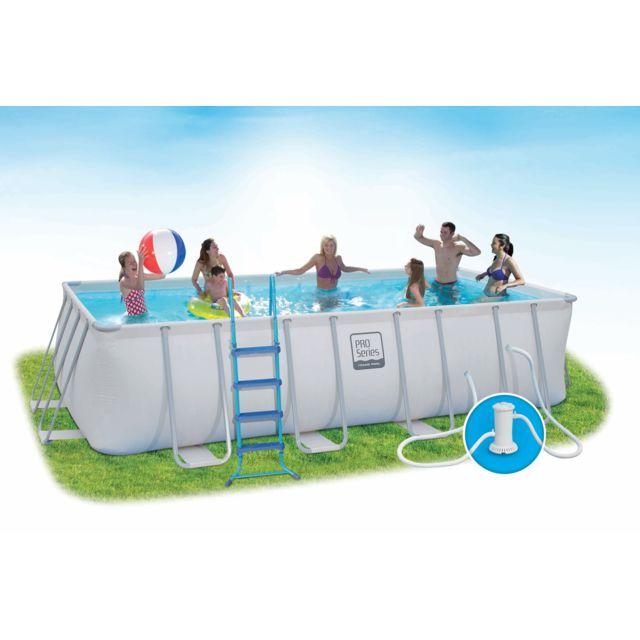 carrefour piscine tubulaire maiao l 5 49 x l 2 74 x h 1 22 m pas cher achat vente. Black Bedroom Furniture Sets. Home Design Ideas
