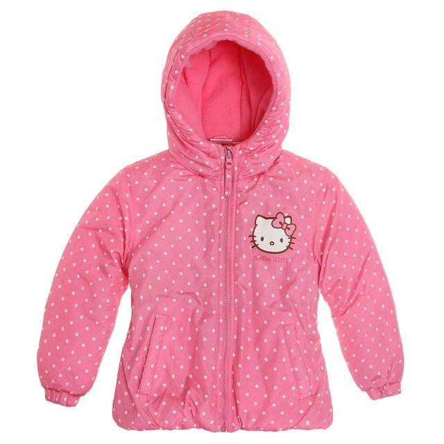 Hello Kitty - Fille Doudoune - pas cher Achat   Vente Manteau enfant -  RueDuCommerce 0b72f3c95fc