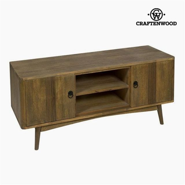 Craftenwood Banc Tv Teck Mdf Marron 130 x 45 x 57 cm Collection Be Yourself by
