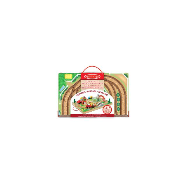 Melissa And Doug Valisette ferme transportable