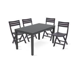 chaise plastique jardin pliable. Black Bedroom Furniture Sets. Home Design Ideas