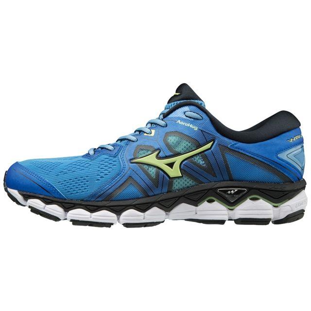 Wave Sky 2 Bleue Chaussures de running homme