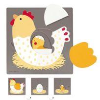 Goula - Encastrement 3 niveaux la poule