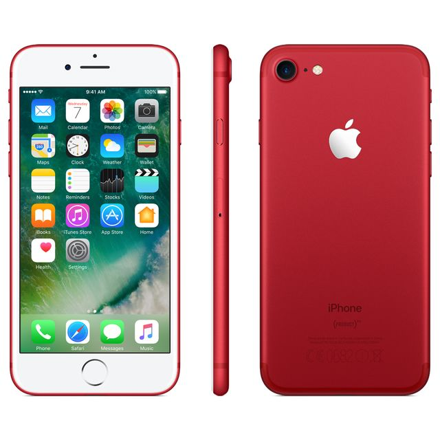 747d0592ebaa36 APPLE iPhone 7 - 128 Go - MPRL2ZD A - Red Edition pas cher - Achat ...