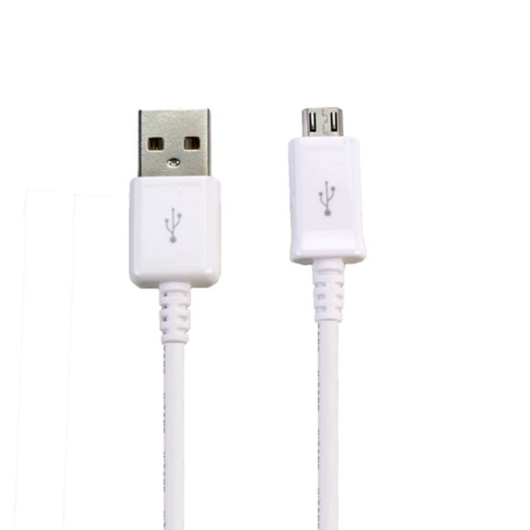 Lapinette - Cable Data + Charge Micro Usb Pour Samsung Galaxy S6 Edge - Blanc
