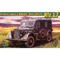 Ace Authentic - Maquette véhicule radio allemand Kfz.17