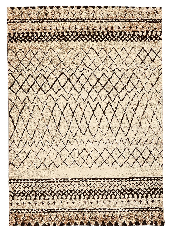 Tapis Berber MOROCCO TRIBAL beige Tapis Moderne 60 x 110 cm beige 60 x 110 cm