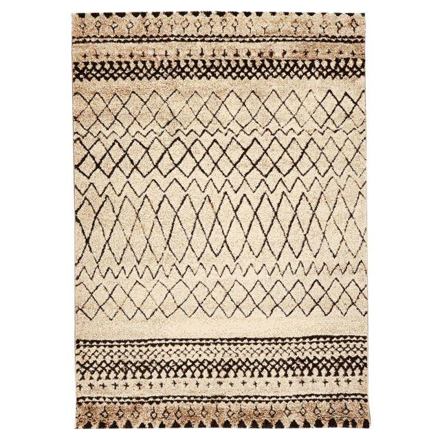 UN AMOUR DE TAPIS - Tapis Berber MOROCCO TRIBAL Tapis Moderne par Unamourdetapis beige 60 x 110 cm